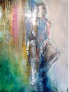 2015 Technique mixte sur toile, 50x40