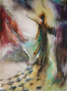 2013 Technique mixte sur toile, 120x80