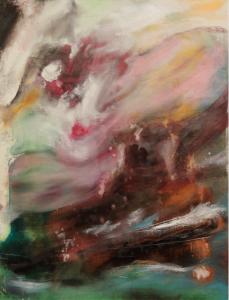 2016 Technique mixte sur toile, 80x60
