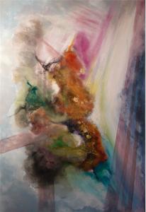 2015 Technique mixte sur toile, 120x80