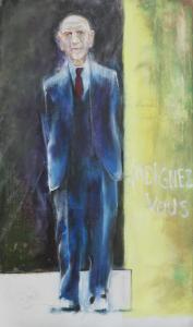 2013 Huile sur toile, 167x96