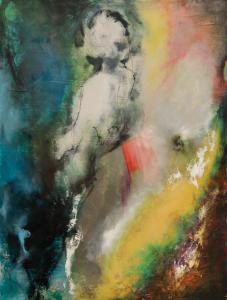 2016 Technique mixte sur toile, 11§x80