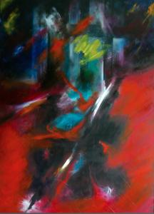 2015 Technique mixte sur toile, 120x8à