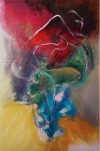 2015 Technique mixte sur toile, 118x80