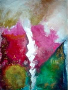 2015 Technique mixte sur toile, 116x80